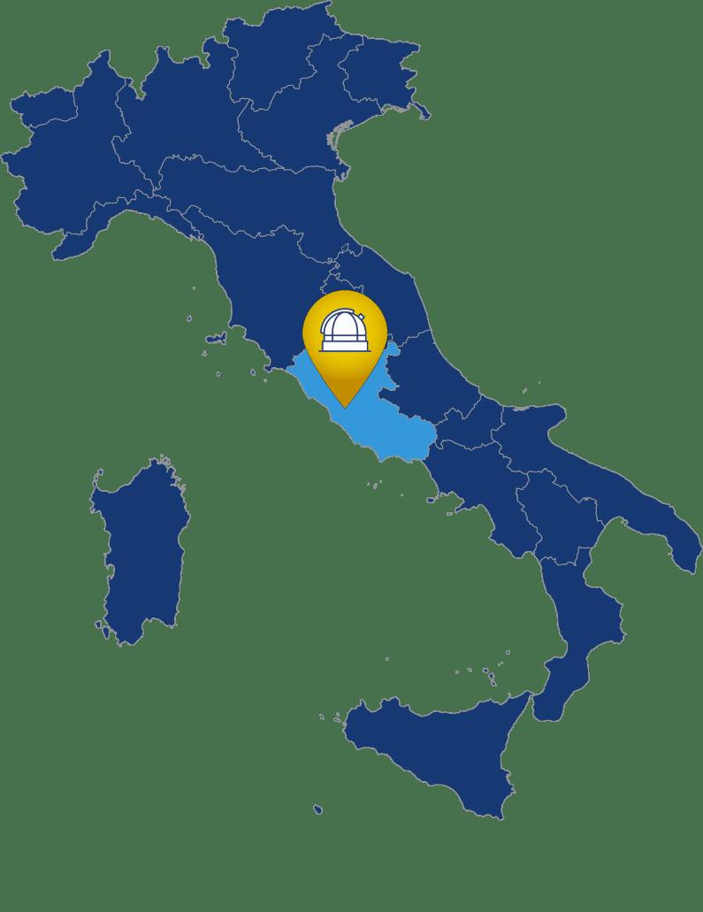 Mappa sede di Roma